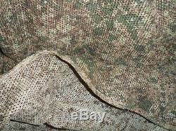 Costume Camouflage Complet De L'armée Israélienne Poncho Avec Capot Double Face Militaire Idf Zahal