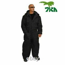 Coverall Idf Hermonit Snowsuit Ski Snow Suit Vêtements D'hiver Froid Pour Hommes Noir
