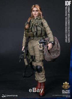 Dam Jouets Féminin 1/6 Echelle 12 Élite Idf Combat Intelligence CIC Nachshol 78043
