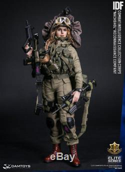 Damtoys 78043 Idf 1/6 Échelle Nachshol Reconnaissance Company Poupée Figure Féminine