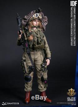 Damtoys Corps D'intelligence Combat Idf 1/6 Nachshol Reconnaissance Company Figure