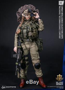 Damtoys Figure 1/6 Du Corps De Renseignement De Combat De La Compagnie De Reconnaissance De Nachshol De L'armée Israélienne