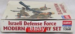 Defence Force Academy Israélienne Moderne D'infanterie 1/35 Modèle Kit 1368 Newithopen Box