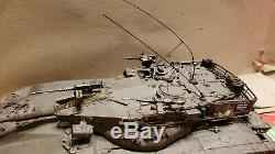 Défense Israélienne Pro Intégré De Tsahal Merkava 1 Échelle Hybride Réservoir 1/35 Modèle