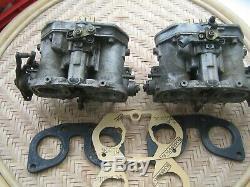 Dellorto, Drla / 40, Presque Neuf, Paire, Carburateurs / Carb. Vwitht1 / T2 / Alfa / Weber / 36 / Idf