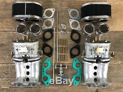 Doppelvergaseranlage 40 Idf Fajs Vergaser Vw Bus Porsche 914 Tuning Typ 4