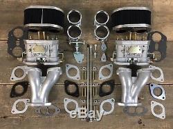 Doppelvergaseranlage 40 Idf Fajs Vergaser Vw Käfer Autobus Porsche Tuning Typ1