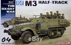 Dragon 1/35 3569 Idf M3 Half-track (la Guerre Des Six Jours) (série Sur Le Moyen-orient)