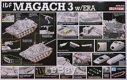 Dragon 1/35 3578 Idf Magach 3 Réservoir Withera (la Guerre Des Six Jours) (guerre Du Moyen-orient)