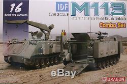 Dragon 1/35 3622 Idf M113 Ajusteurs / Chata'p Champ Véhicule De Réparation (set Combo)