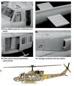 Dragon #3543 1/35 Hélicoptère Uh-1n De L'iaf Avec Un Parachutiste De L'iaf (israeli Defense Force)