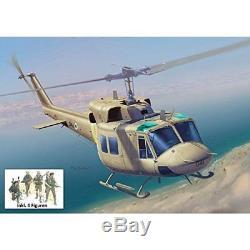 Dragon Models Iaf Uh-1n Hélicoptère Avec Idf (force De Défense Israélienne)