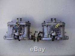 Ensemble De (2x) 36 Carburants Idf Weber Carburateur Bicylindre Vw 356 912 Original