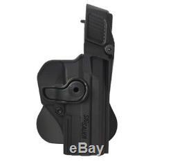 Étui Noir Pour Pistolet De Rétention De Niveau 3 Sig Sauer Mk 25 Utilisé Par Les Fdi