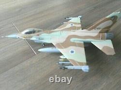 F-16c Barak Israélien Idf Hasegawa Nice Construit 1/72