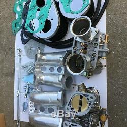 Faj Carburateur Kit Pour Porsche 914 Vw Type De Bus IV Double 48idf Remplacer Kit Weber