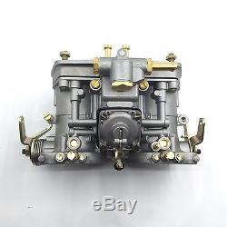 Fajs 44idf Carb Carburateur 44mm 2 Barils Remplacer Weber Dellorto Pour Bug Vw Fiat