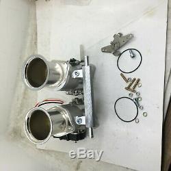 Fajs Corps D'étranglement Injection 48idf48mm Efi Pour Weber Rmpe W Tps Horn Rep Carb