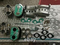 Fajs Kit De Conversion De Carbure 40idf Pour Porsche 356 914 912 Weber Dellorto Carburetor