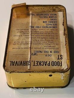 Fdi/iaf-issue Yom Kippur War'73 Food Packet Survival St Ration (non Ouvert)