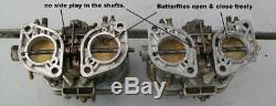 Fiat 124 Coupé / Araignée Oe Weber 40 Idf 13/15 Carburateurs & Empilements De Vitesse Utilisé