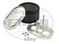 Filtre À Air Empi Vw Bug Billet 40-48 Weber Idf Hpmx Drla 7x3-1 / 2x4-1 / 2 43-6015