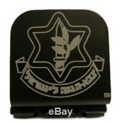 Force De Défense Israélienne Symbole Laser Gravé En Aluminium Chapeau Clip Brim-it
