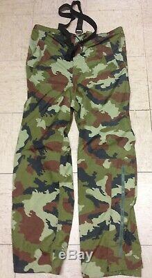 Forces De Défense De L'armée Irlandaise Goretex Pantalon Combat Woodland Vert Dpm Moyen Idf