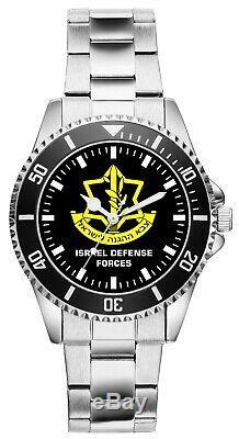 Forces De Défense Israéliennes De Tsahal Geschenk Fan Artikel Zubehör Fanartikel Uhr 1631