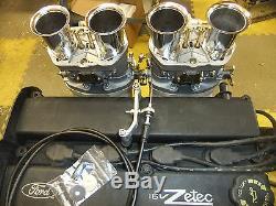 Ford Zetec Blacktop Silvertop Collecteur D'admission Avec 44 Liaison De Glucides Idf