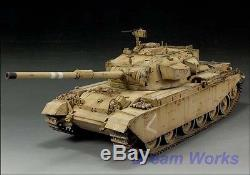 Gagnant Du Prix Construit Afv Club 1/35 Idf Sho't Kal 1973 Centurion Mk. 5/1 + Pe + Résine