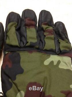 Gants De Combat Des Forces De Défense Irlandaises XL Numéro Idf Woodland Green Dpm Rangers1
