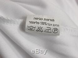 Gaza Division Israélienne Des Forces De Défense D'israël Militaire De Tsahal T-shirt Sz Grand Blanc