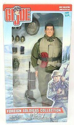 Gi Joe Soldats Étrangers Collection, Soldat Des Forces De Défense Israélienne, Nib 12