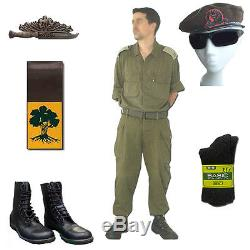 Golani Infanterie Brigade Idf Armée Israélienne Militaire Fatigue Coton Ensemble Uniforme