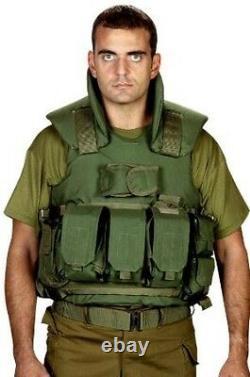 Hagor Tactical Body Armor Hpv-1600/50 Am Protection 3a Vest Idf Israël