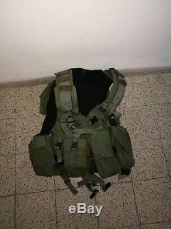 Harnais De Combat Vest Assaualt Tactique Authentique De L'armée Israélienne Pour Officier \ Swat