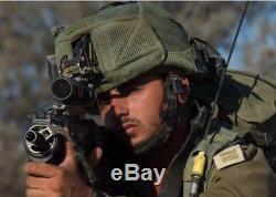 Hassa Plus Israël Armée Idf Tactique Como Helmet + Built-in Goggles Couverture Vert