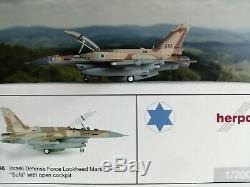 Herpa Wings 1200 Défense Israélienne Force 253 Squadron Néguev Lockheed F-16i Sufa C