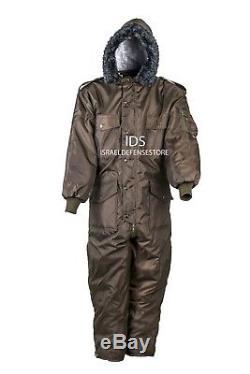 Hiver Idf Hagor Hermonit Vêtements De Neige Combinaison Ski Combinaison Froide Vert Olive