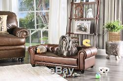 Hokku Designs Canapé Beverly Chesterfield Pour Chien