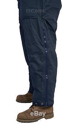 Hommes Femmes Idf Bleu Marine Snowsuit Vêtements D'hiver Ski Snow Suit One Piece