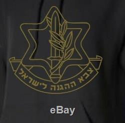 Hoodie Armée Israélienne Militaire De Tsahal (force De Défense Israélienne) Sweat À Capuche