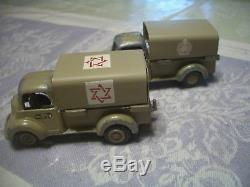Hou La La! Rare 1950's-60 Vintage 7 Pc Gamda Idf-israel Défense Army Set, Ex-read