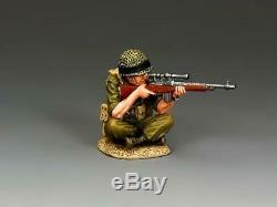 Idf012 Le Roi Sniper Assis Et La Force De Défense Israélienne Pays