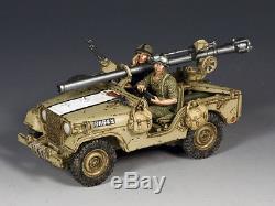 Idf017 Jeep Israélienne M38 Avec Fusil Sans Recul De 106 MM Par King And Country