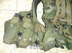 Idf Actuel Golani Vest Éphod Zahal Web. Made In Israel Utilisé Deuxième Guerre Du Liban