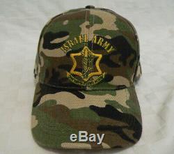 Idf Armée Israélienne Chapeau De Camouflage Zahal Commando Force De Défense D'israël Hébreu A