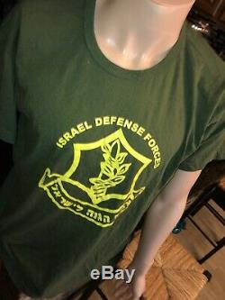 Idf Defense Force Est Israelien Milieu Israël Coton Sz Lg Bx6