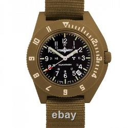 Idf Duvdevan Pilot Watch Marathon Navigator Avec Date Aviation H3, New, Desert Tan